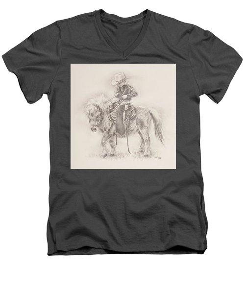 Battle Of Wills Men's V-Neck T-Shirt