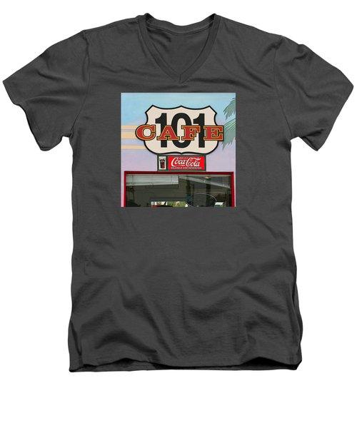 Beach Cafe Men's V-Neck T-Shirt