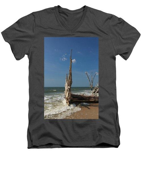 Beach Magic Men's V-Neck T-Shirt