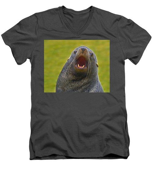 Beach Master Men's V-Neck T-Shirt
