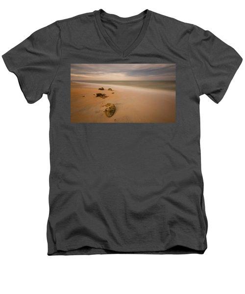 Beach Rocks Men's V-Neck T-Shirt