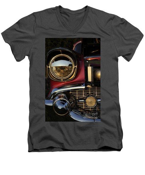Beaming Men's V-Neck T-Shirt