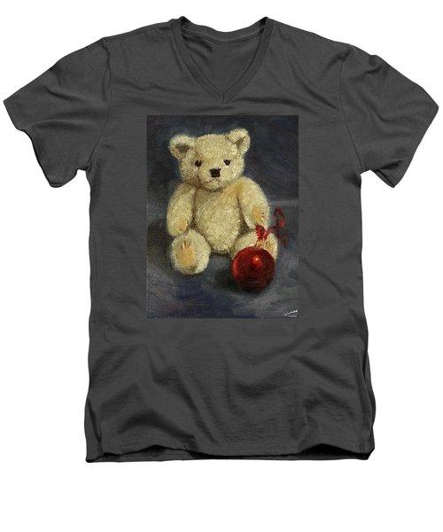 Beary Christmas Men's V-Neck T-Shirt