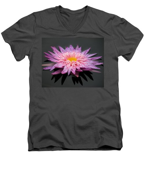 Beautiful Lily Men's V-Neck T-Shirt