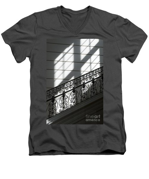 Beautiful Staircase Men's V-Neck T-Shirt