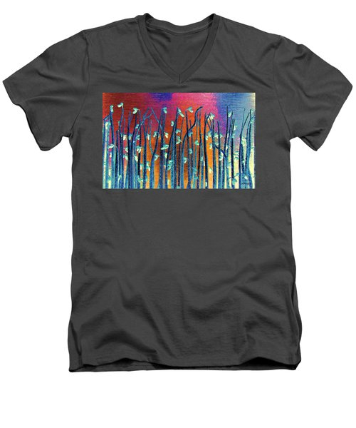 Beautiful Weeds On Venus Men's V-Neck T-Shirt