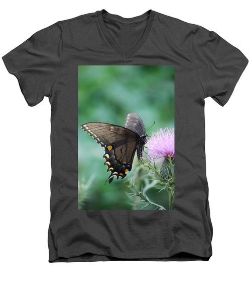Beauty And Thistle Men's V-Neck T-Shirt