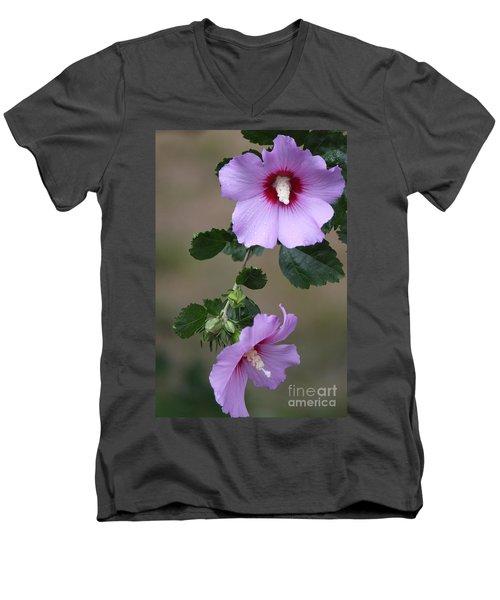 Beauty Doubles Men's V-Neck T-Shirt