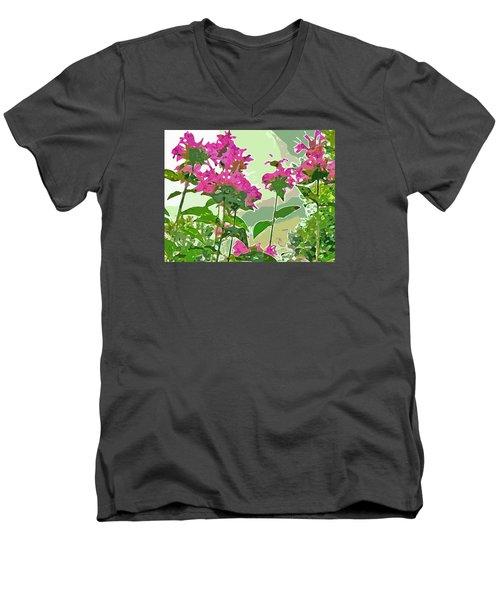 Bee Balm Men's V-Neck T-Shirt