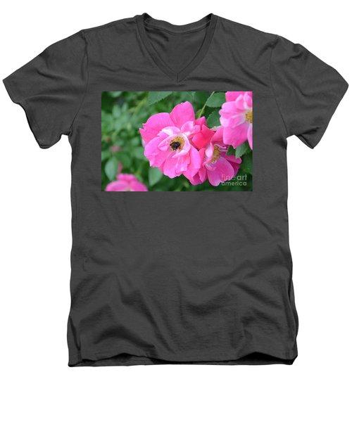 Bee Rosy Men's V-Neck T-Shirt
