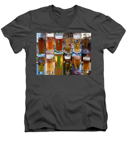 Beers Of Europe Men's V-Neck T-Shirt