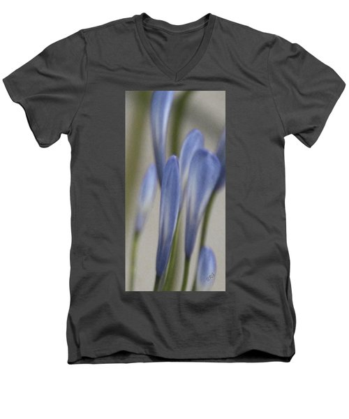 Before - Lily Of The Nile Men's V-Neck T-Shirt