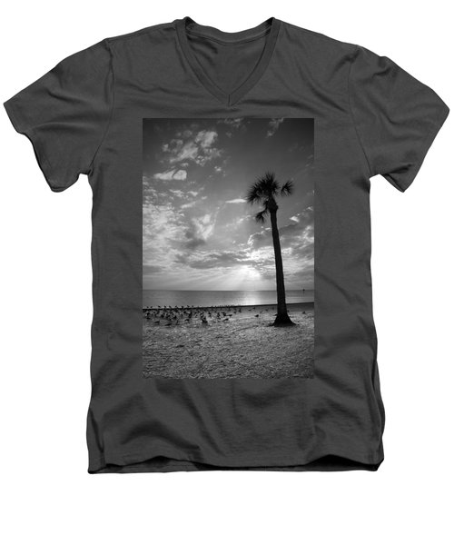 Before Sunset Men's V-Neck T-Shirt