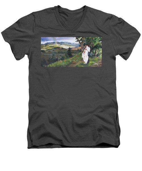 Beginnings Men's V-Neck T-Shirt