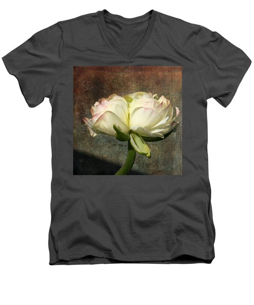 Begonia With A Tint Of Pink Men's V-Neck T-Shirt