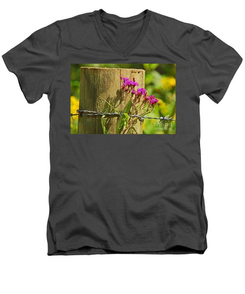 Behind The Fence Men's V-Neck T-Shirt