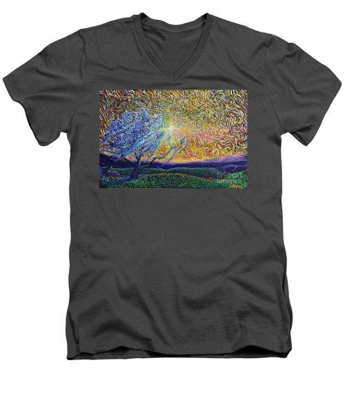 Beholding The Dream Men's V-Neck T-Shirt