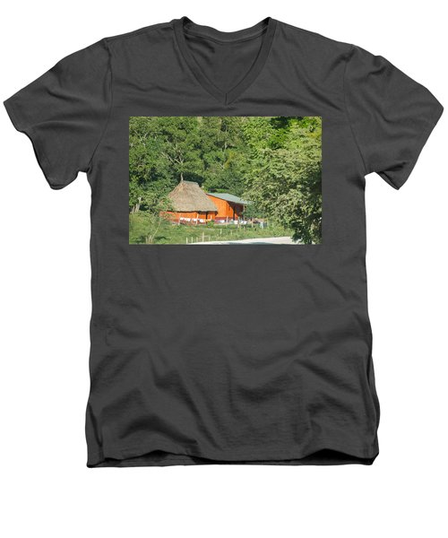 Belize House Men's V-Neck T-Shirt