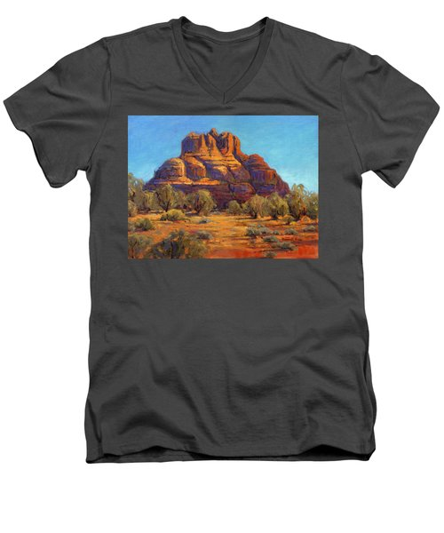 Bell Rock, Sedona Arizona Men's V-Neck T-Shirt