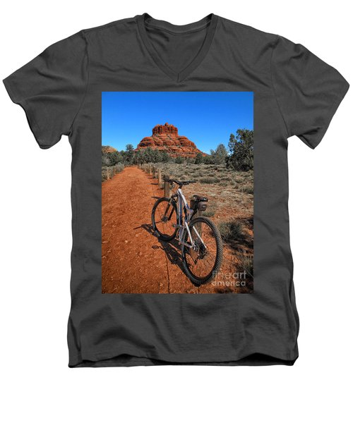Bell Rock Trail Men's V-Neck T-Shirt