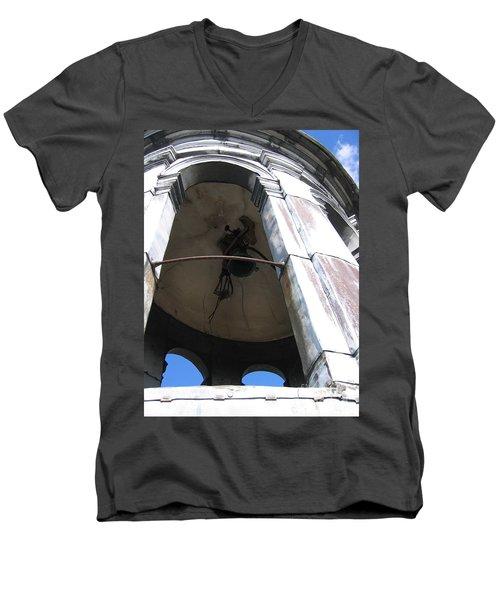 Bell Tower Men's V-Neck T-Shirt