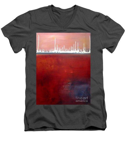 Below Men's V-Neck T-Shirt