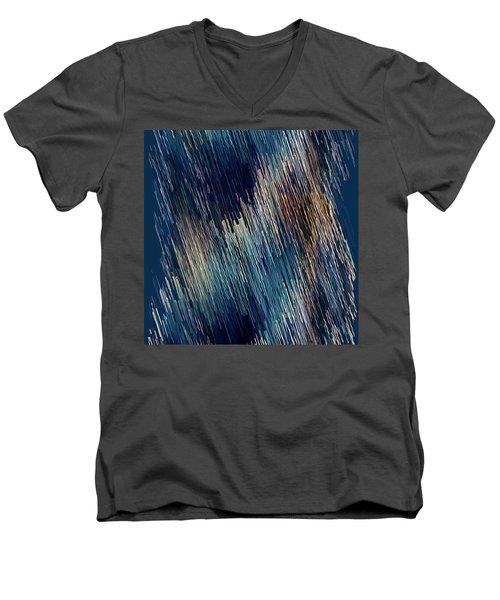 Below Zero Men's V-Neck T-Shirt