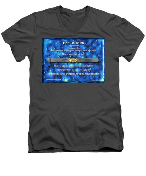 Belt Of Truth Men's V-Neck T-Shirt