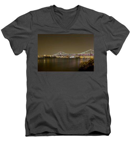 Ben Franklin Men's V-Neck T-Shirt