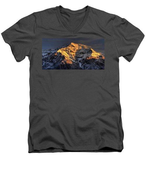 Ben Lomond Sunrise Men's V-Neck T-Shirt