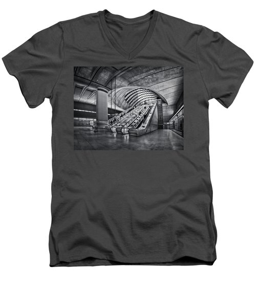 Beneath The Surface Of Reality Men's V-Neck T-Shirt by Evelina Kremsdorf