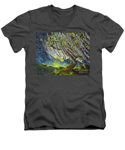 Beneath The Willow Men's V-Neck T-Shirt