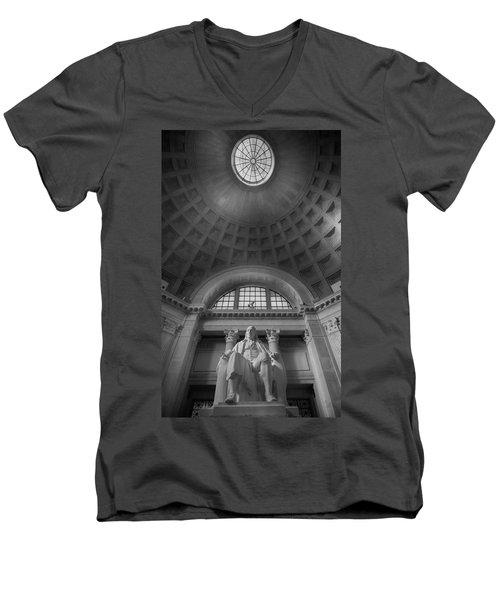 Benjamin  Men's V-Neck T-Shirt