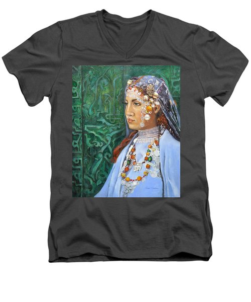 Berber Woman Men's V-Neck T-Shirt