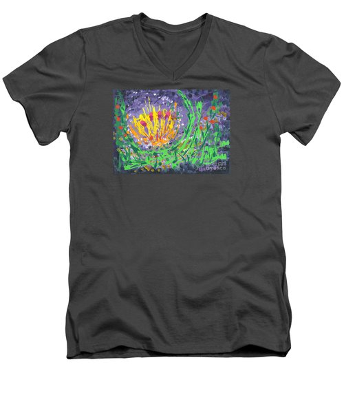 Berries And Brambles Men's V-Neck T-Shirt