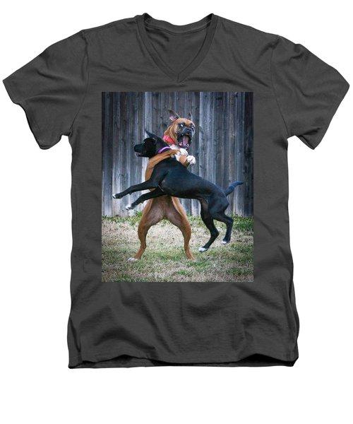 Best Of Friends Men's V-Neck T-Shirt