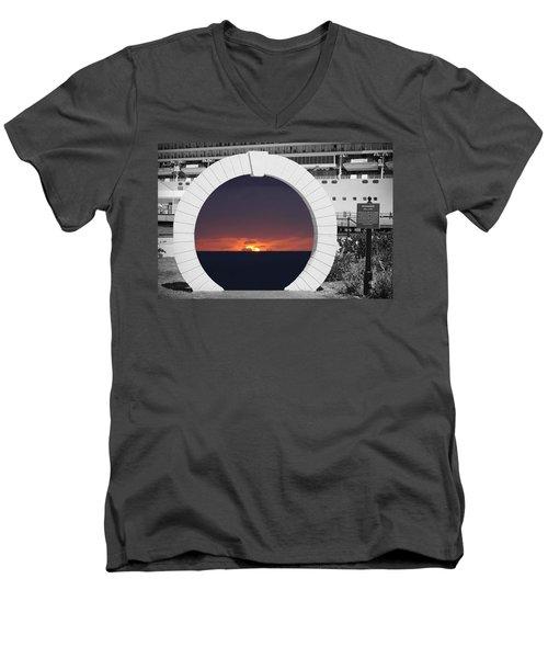 Best Wishes Men's V-Neck T-Shirt