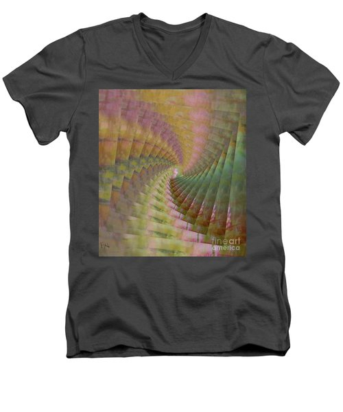 Between Heaven And Earth Men's V-Neck T-Shirt