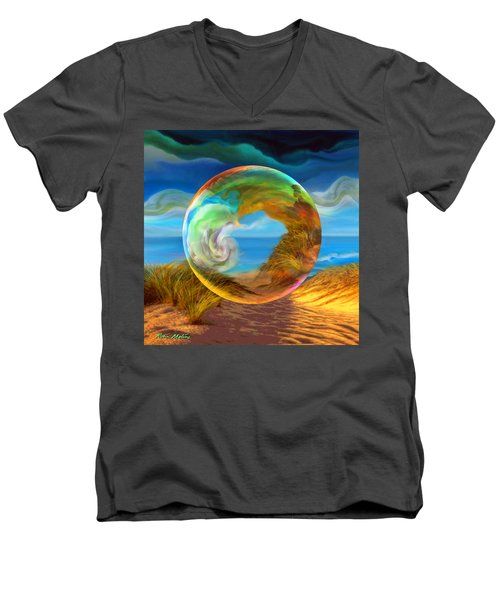 Beyond The Sea  Men's V-Neck T-Shirt
