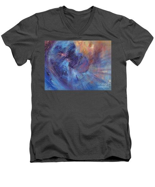 Beyond Men's V-Neck T-Shirt by Valerie Travers