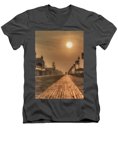 Bicycle Boardwalk Men's V-Neck T-Shirt