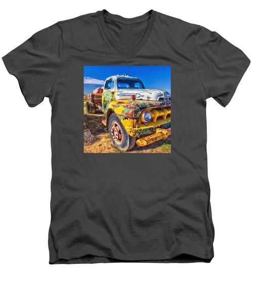 Big Job Men's V-Neck T-Shirt