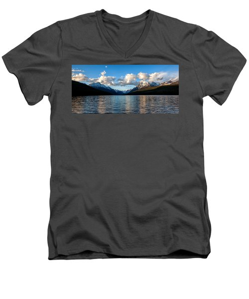 Men's V-Neck T-Shirt featuring the photograph Big Sky by Aaron Aldrich