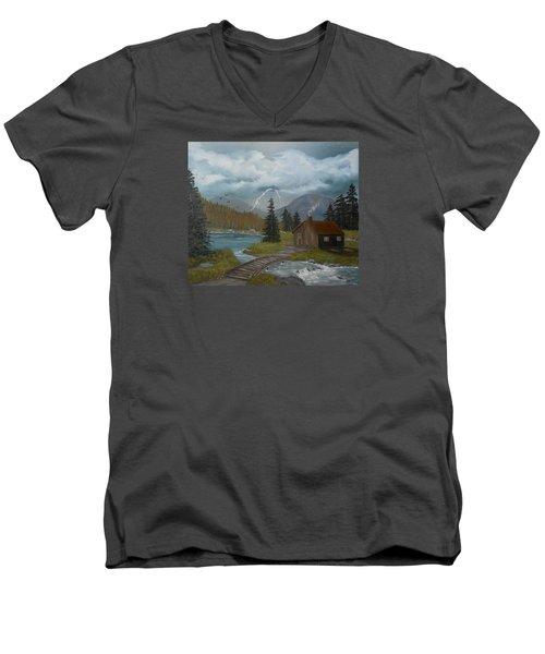 Big Storms A Comin' Men's V-Neck T-Shirt