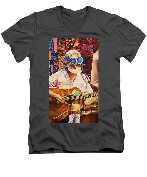 Bill Nershi At Horning's Hideout Men's V-Neck T-Shirt