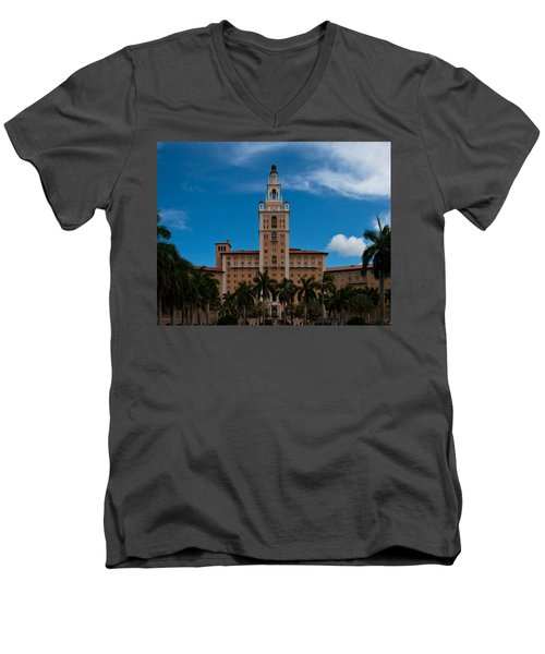 Biltmore Hotel Coral Gables Men's V-Neck T-Shirt
