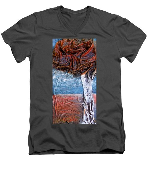 Birch Tree Men's V-Neck T-Shirt