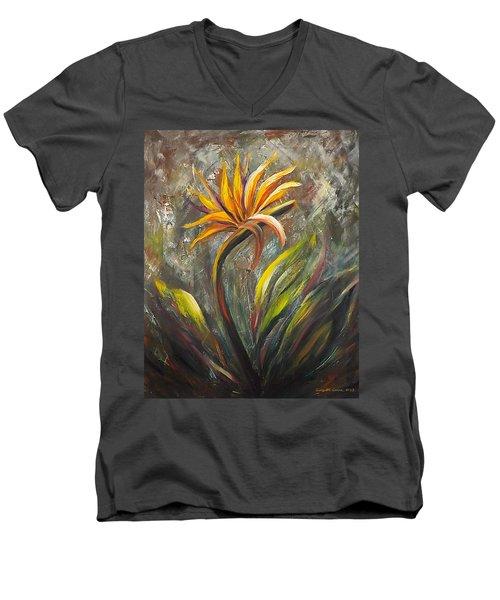 Bird Of Paradise 63 Men's V-Neck T-Shirt