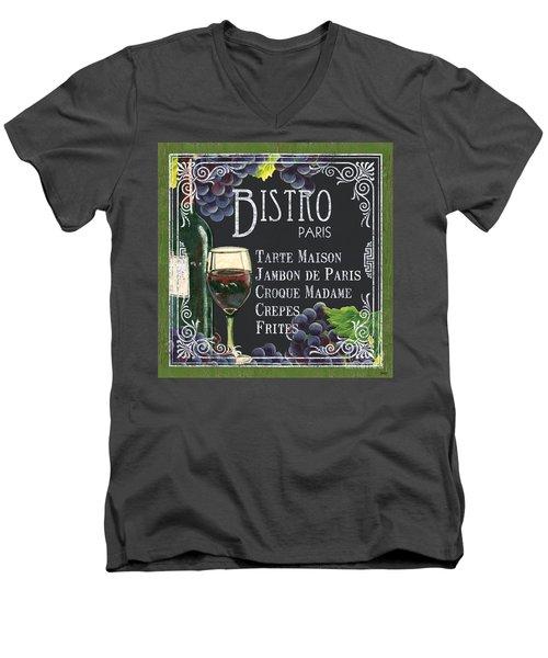 Bistro Paris Men's V-Neck T-Shirt