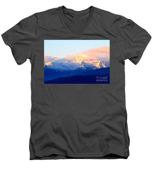 Bitterroot Mountains Montana Men's V-Neck T-Shirt